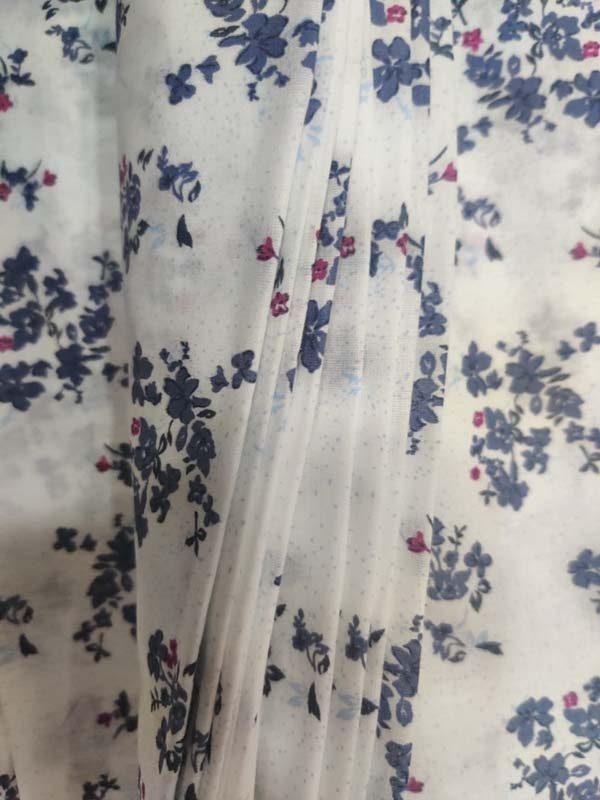 Floral Print Cotton Fabric